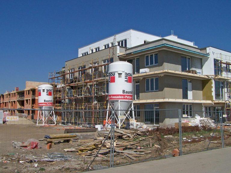 Anna Park B - priebeh výstavby