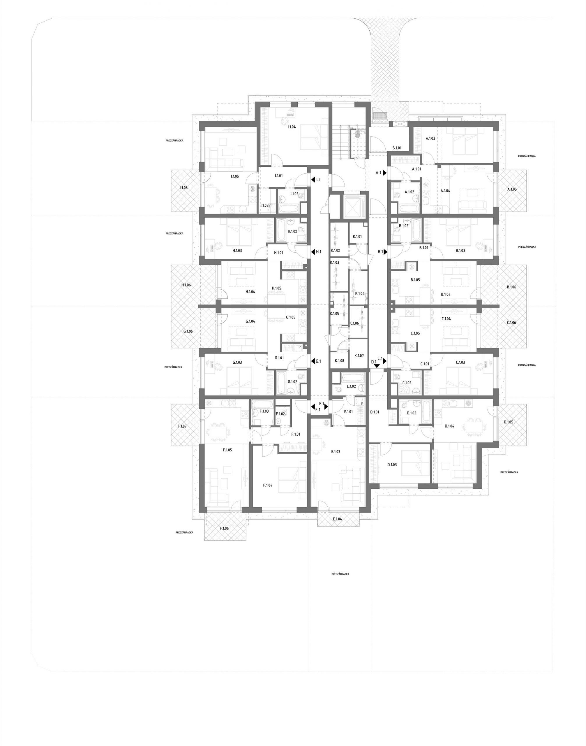 A – Hron 31 Twin – 1.poschodie