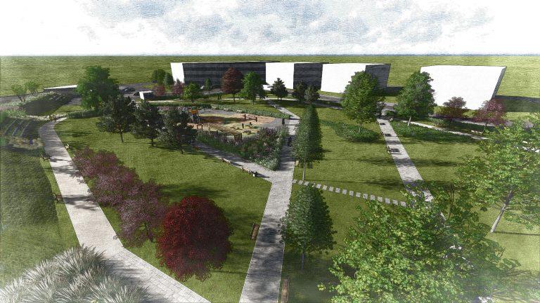 Zelený park s drevinami - Anna Park Miloslavov